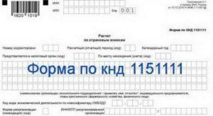 Порядок заполнения формы расчет по страховым взносам форма 1151111