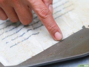 Как искусственно состарить документ