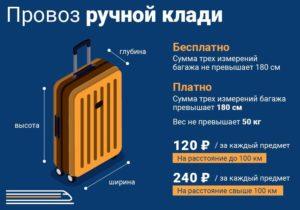 Правила провоза багажа в автобусе городском спб