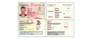 Серия и номер паспорта киргизии пример