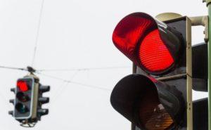 Штраф за переход на красный свет