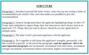 Образец рекомендательного письма студенту для обучения за рубежом
