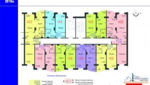 Соотношение площади квартир к общей многоквартирного дома