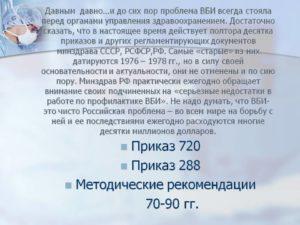Приказ 288 мз ссср от 23 03 1976 г действует