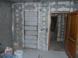 Является ли перепланировкой перенос дверного проема в ненесущей стене