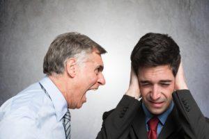 Конфликтный диалог между работником и работодателем